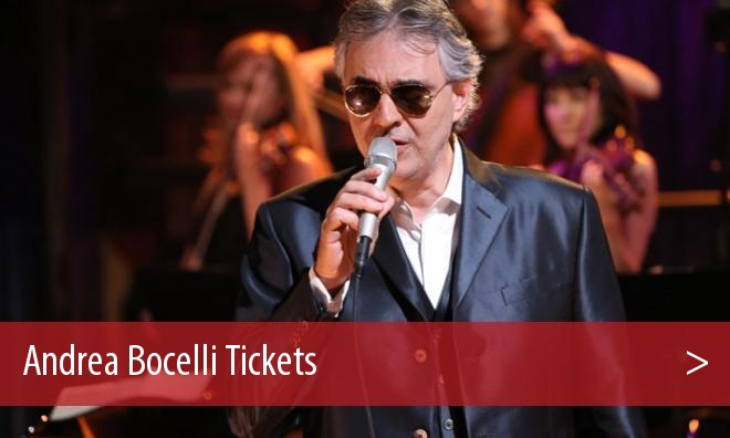 andrea bocelli tickets cheap. Black Bedroom Furniture Sets. Home Design Ideas