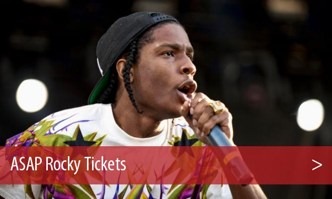 ASAP Rocky Tickets